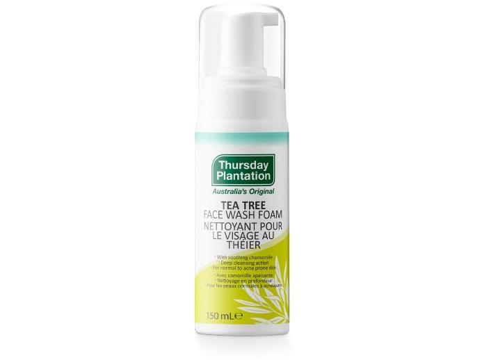 Tea Tree Face Wash Foam | Thursday Plantation |Acne & Skin Care | Canada