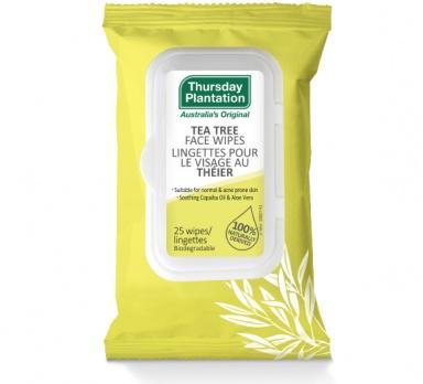 Tea Tree Face Wipes for Acne | Thursday Plantation | Acne & Skin Care | Canada