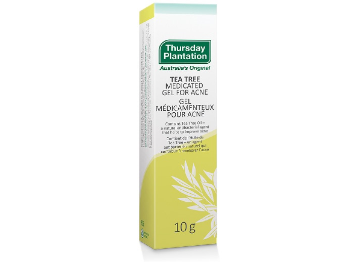 Tea Tree Medicated Gel for Acne   Thursday Plantation   Acne & Skin Care   Antiseptics   Canada